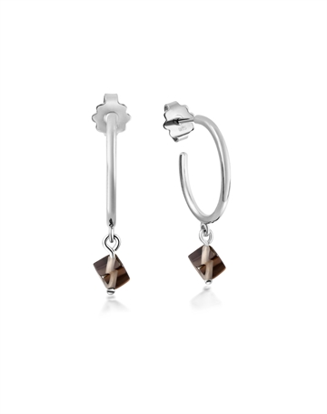 Smokey Quartz Harmony Earrings